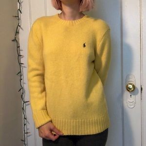 Yellow Ralph Lauren Sweater